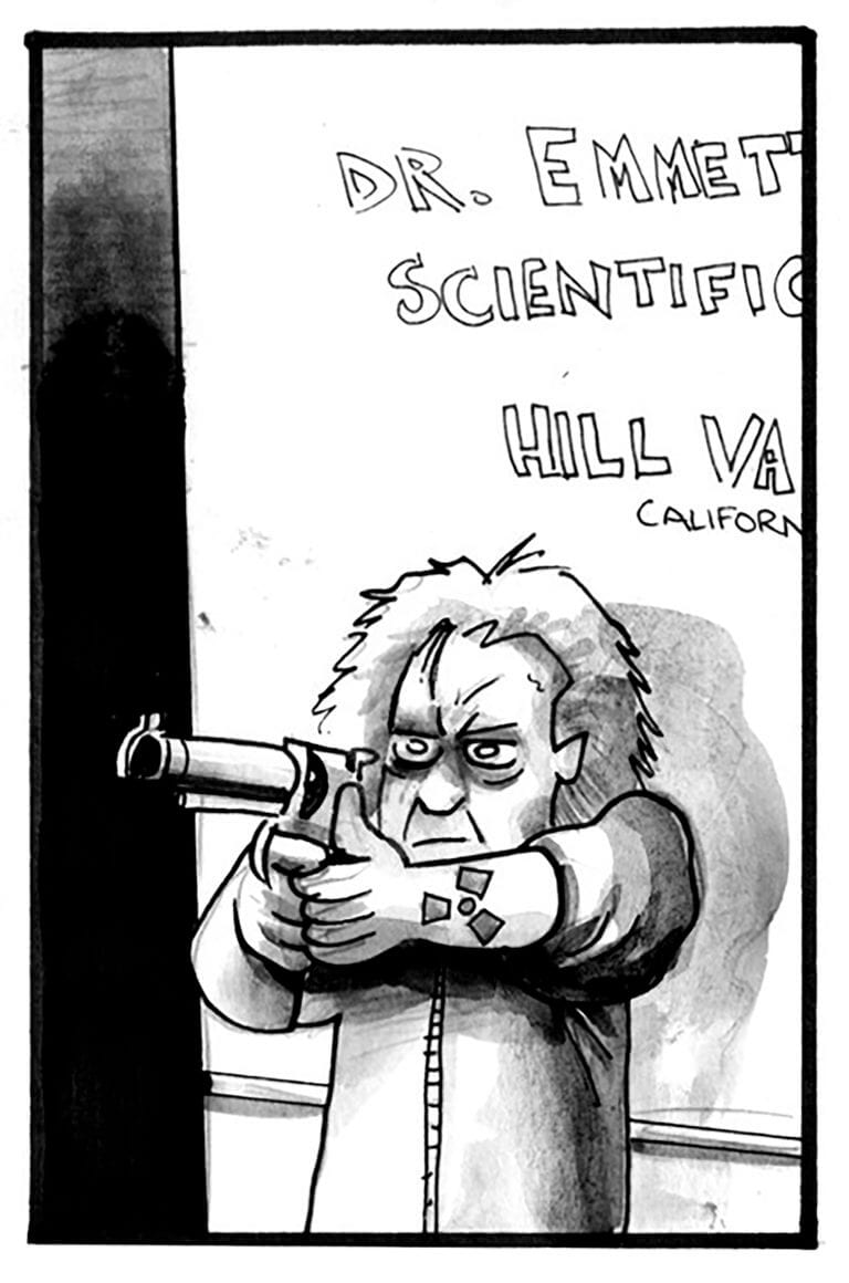 Doc Brown takes aim