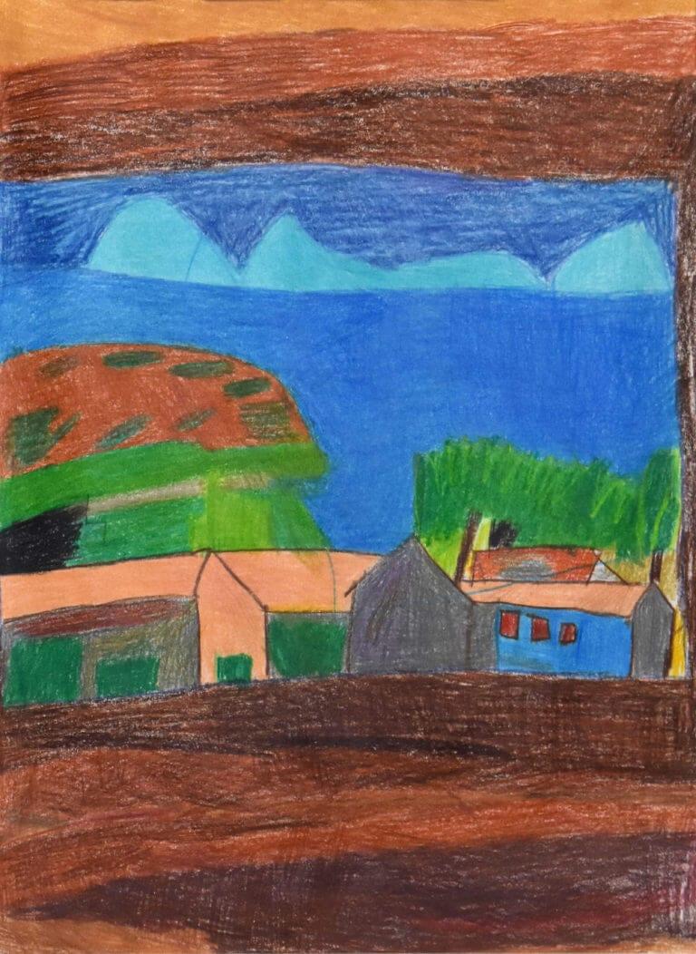 An interpretation of Paul Cézanne's The Gulf of Marseilles Seen from L