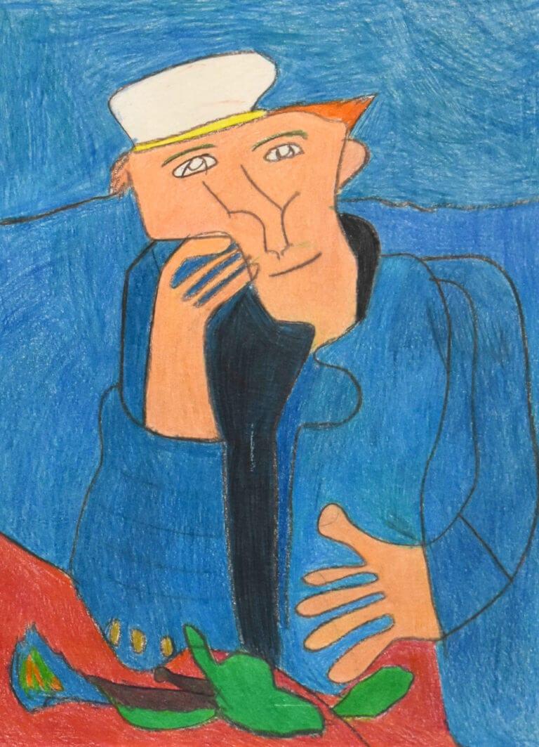An interpretation of Vincent van Gogh's Portrait of Dr. Gachet