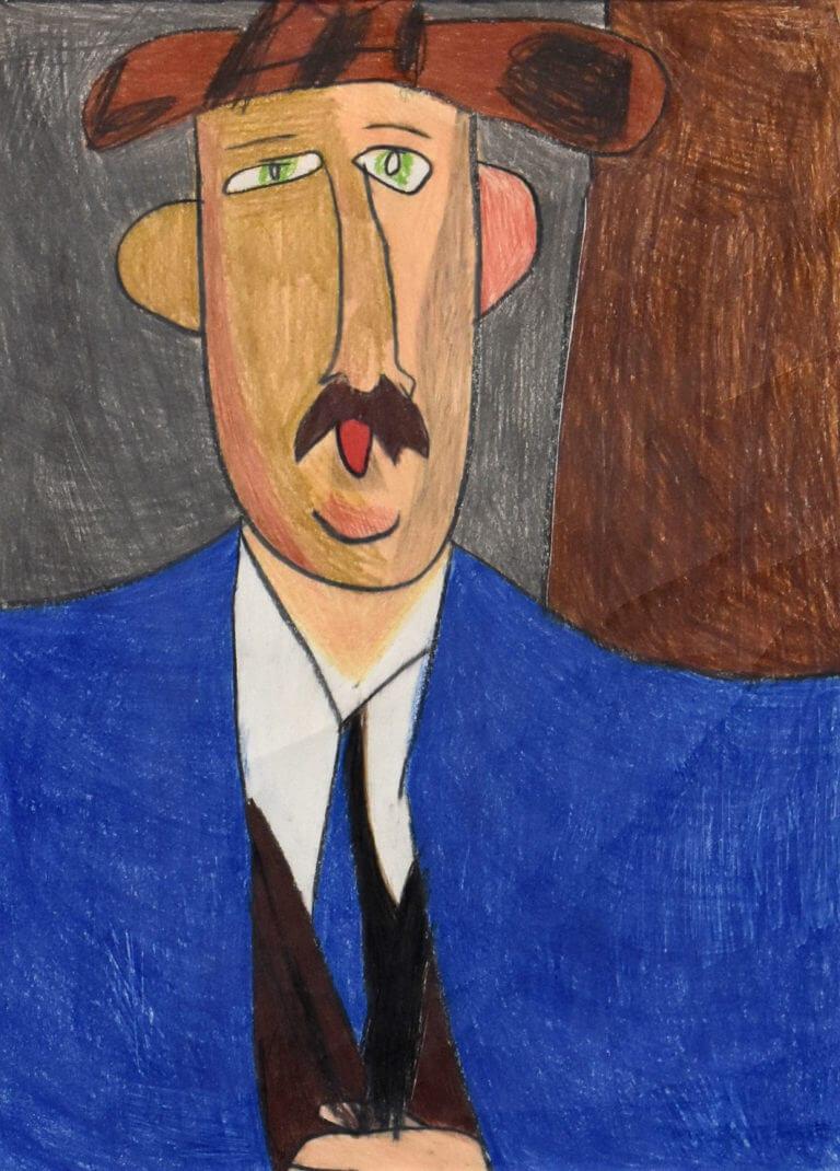 An interpretation of Amedeo Modigliani